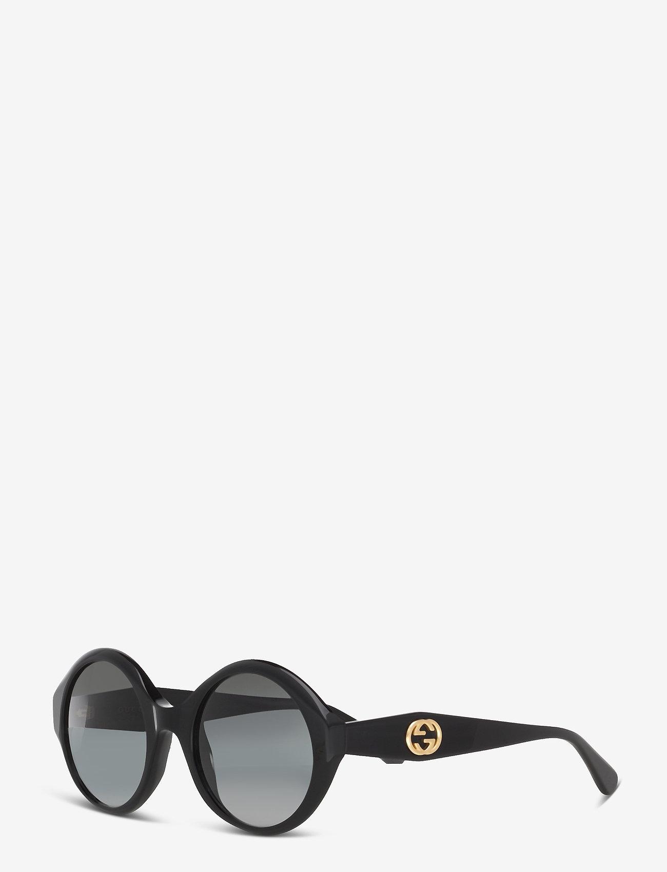 Gucci Sunglasses - GG0797S - rond model - black-black-grey - 1