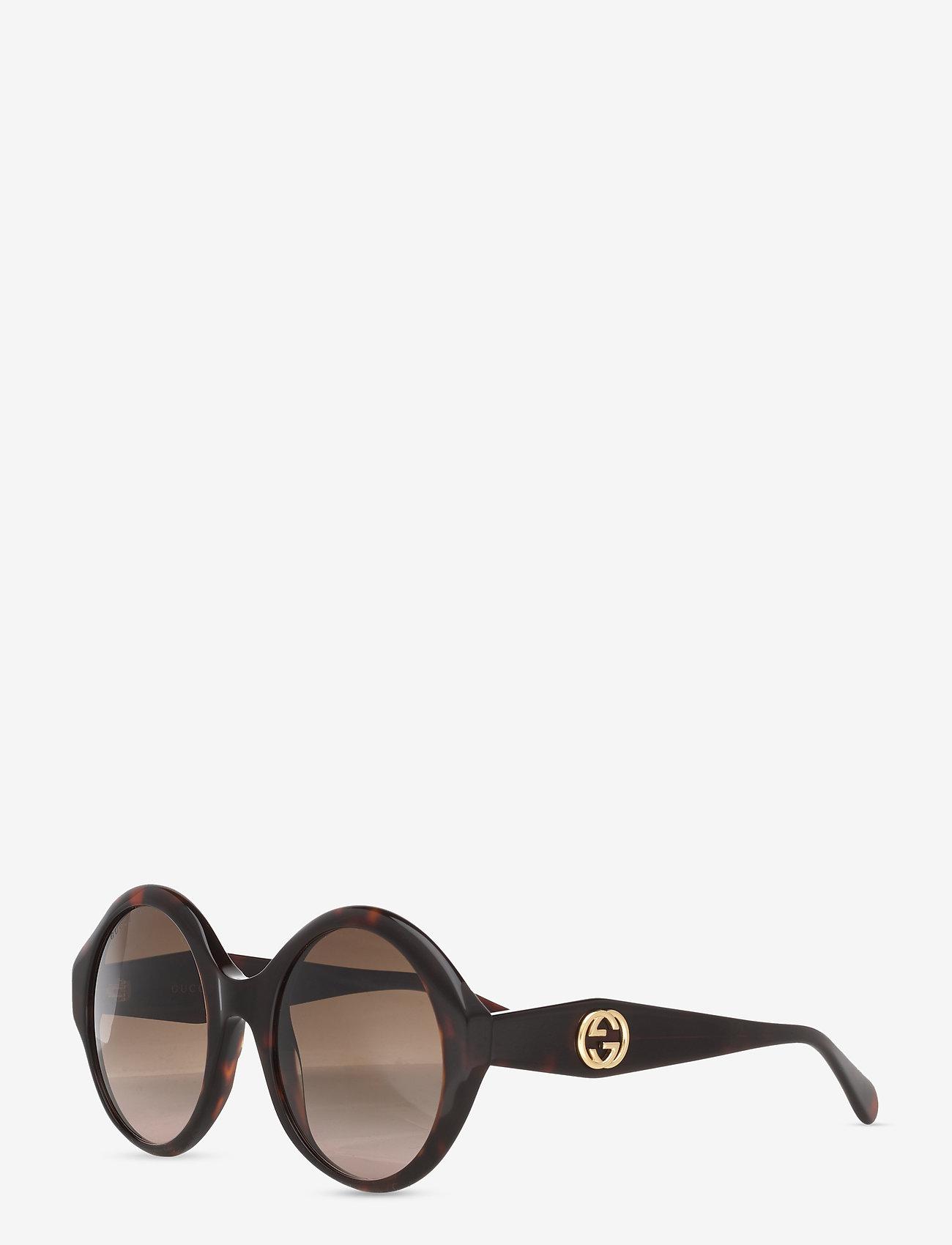 Gucci Sunglasses - GG0797S - rond model - havana-havana-brown - 1