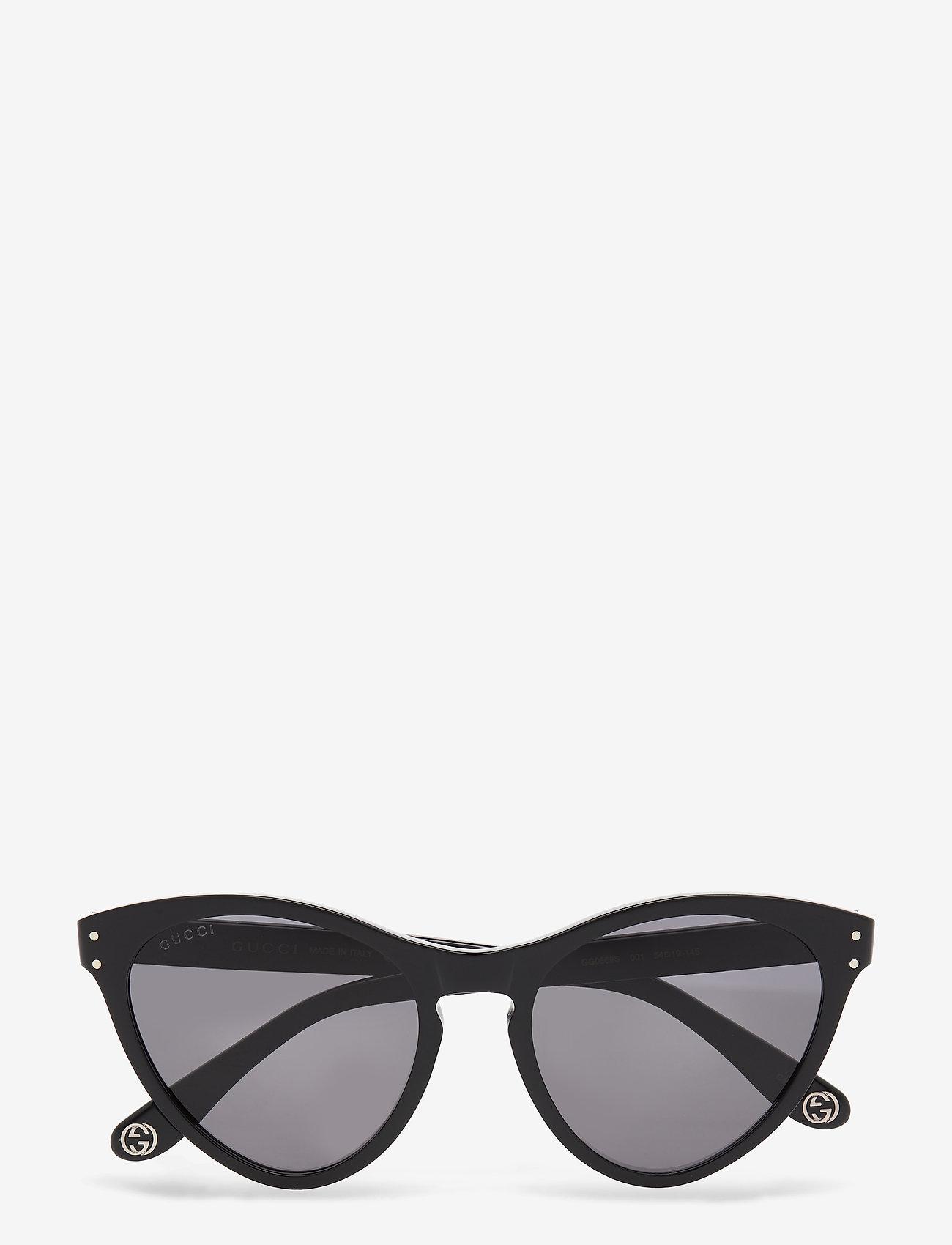Gucci Sunglasses - GG0569S - cat-eye - black-black-grey - 0