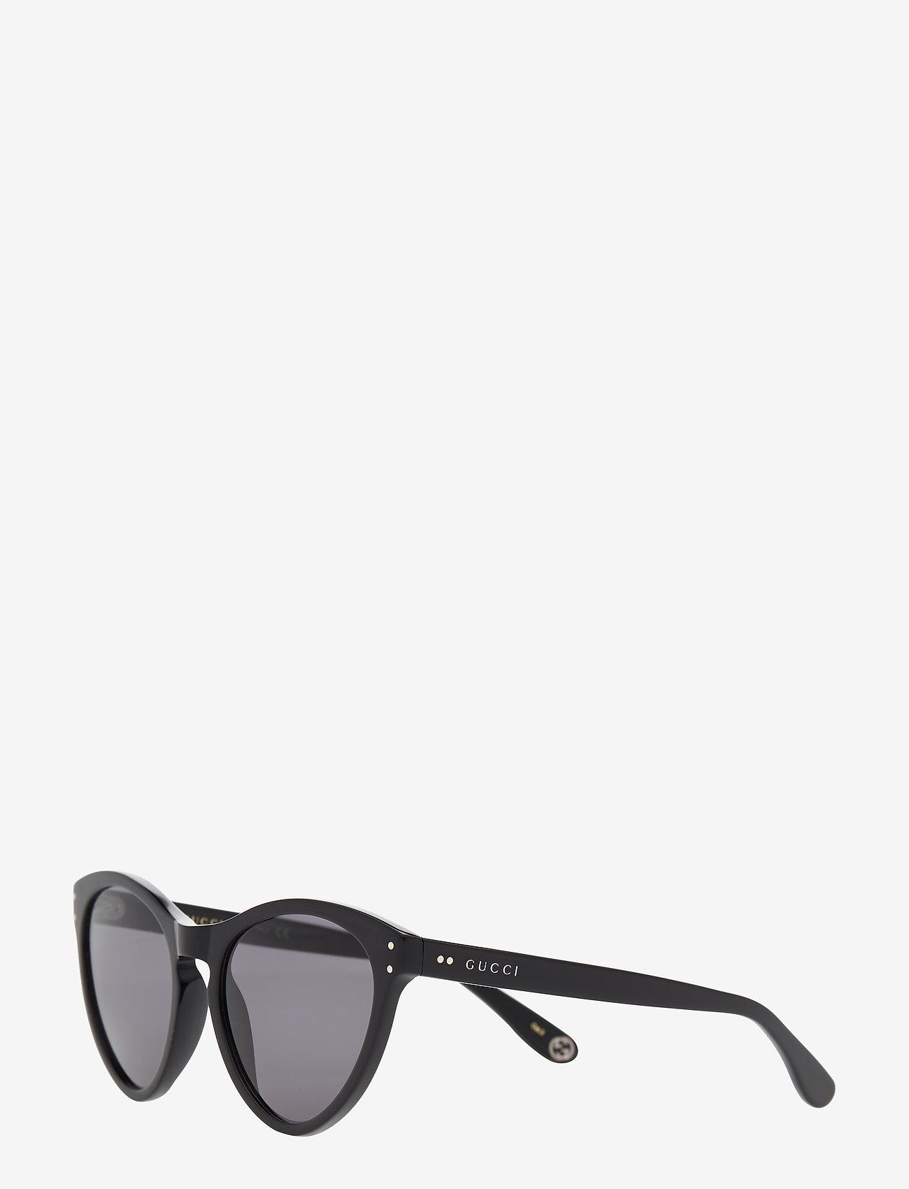 Gucci Sunglasses - GG0569S - cat-eye - black-black-grey - 1