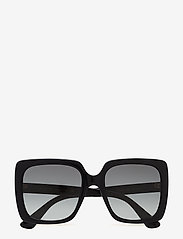 Gucci Sunglasses - GG0418S - neliökehys - black-black-grey - 0