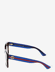 Gucci Sunglasses - GG0034S - d-shaped - avana-blue-brown - 2