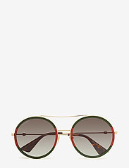 Gucci Sunglasses - GG0061S - round frame - gold-gold-green - 0