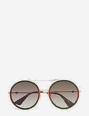 Gucci Sunglasses - GG0061S - rond model - gold-gold-green - 0