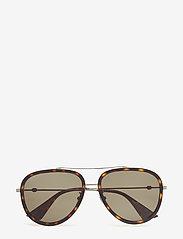 Gucci Sunglasses - GG0062S - pilottilasit - ruthenium-ruthenium-green - 0