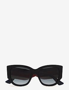 GG0276S - okulary przeciwsłoneczne motyl - black-multicolor-grey