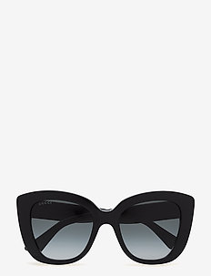 GG0327S - cat-eye - black-black-grey