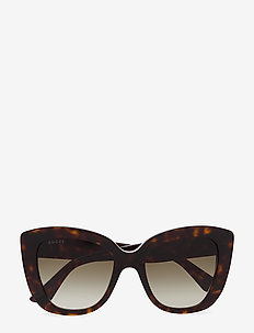 GG0327S - cat-eye - havana-havana-brown