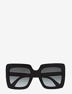 GG0328S - square frame - black-black-grey