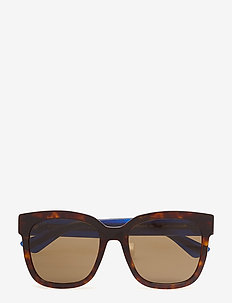 GG0034S - d-shaped - avana-blue-brown