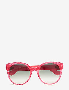 GG0035S - cat-eye - fuchsia-fuchsia-green