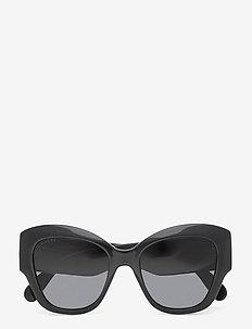 GG0808S - cat-eye - black-black-grey