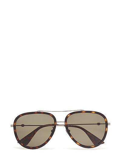 Gg0062s Pilotensonnenbrille Sonnenbrille Braun GUCCI SUNGLASSES