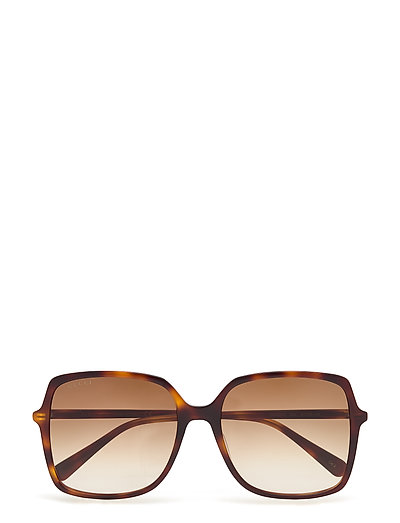 Gg0544s Rechteckige Sonnenbrille Braun GUCCI SUNGLASSES