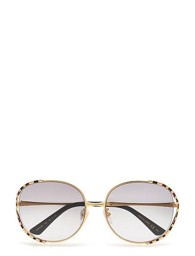 Gg0595s Sonnenbrille Gold GUCCI SUNGLASSES