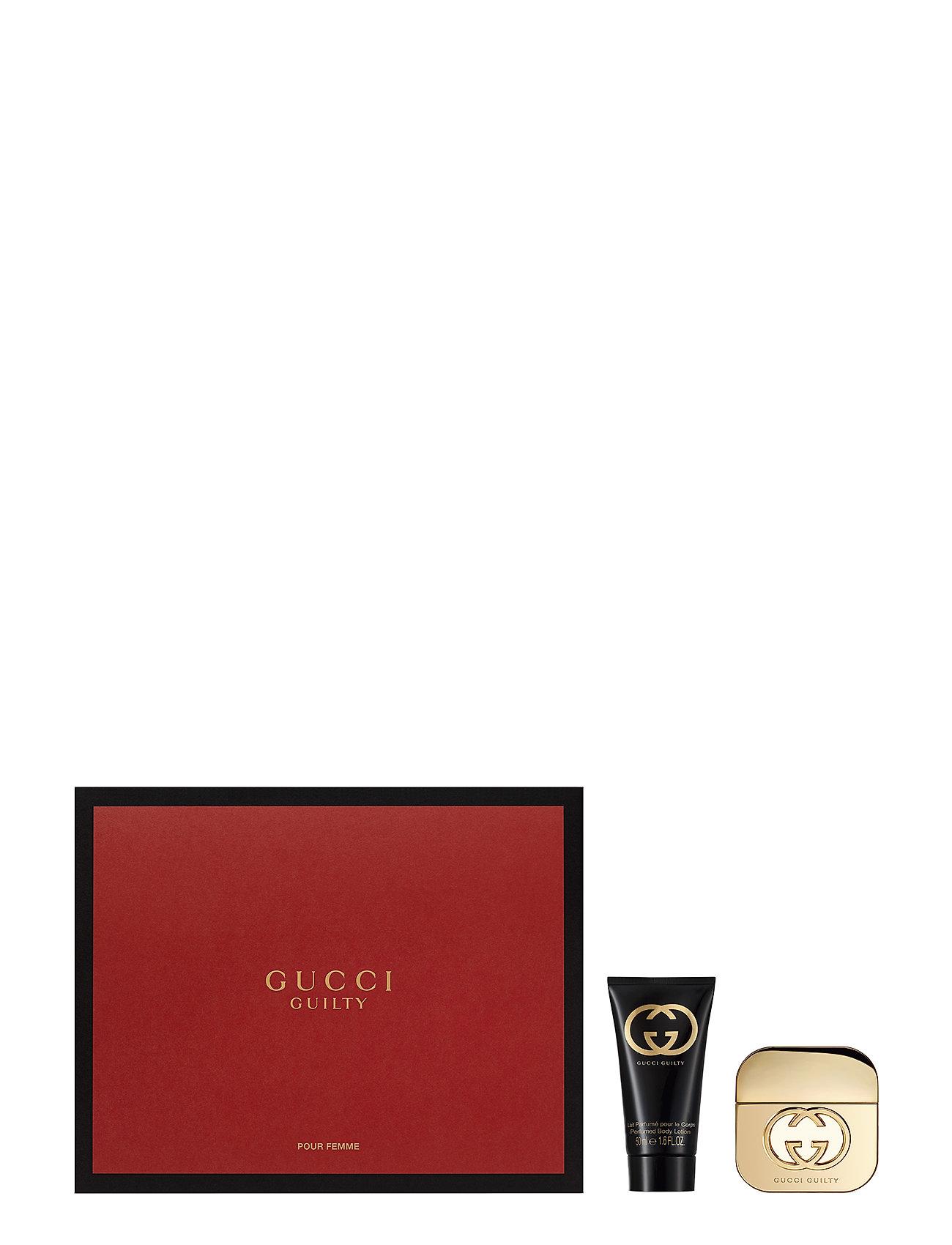 Gucci GUILTY EAU DE TOILETTE 30ML/BLOTION 50ML - NO COLOR