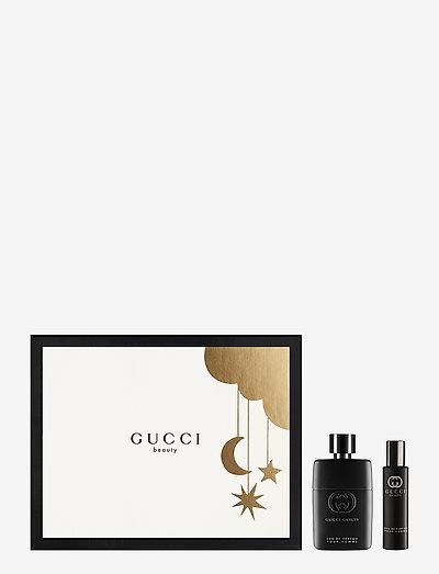 Guilty Pour Homme EdP Gift Set EdP 50 ml + Travel Size 15 ml - gavesett - clear
