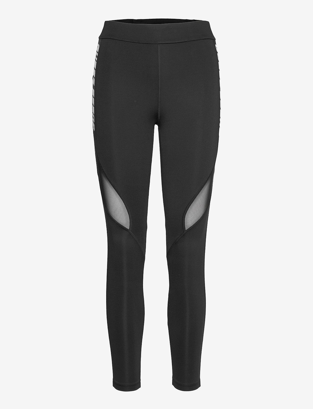 Guess Activewear - ANGELICA LEGGINGS 4/4 - löpnings- och träningstights - jet black a996 - 0