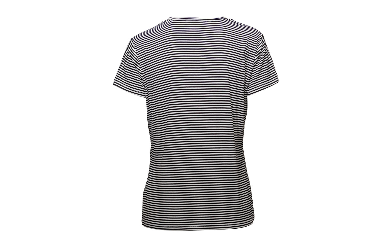Viscose S Tee Jeans 5 Wht Stri Guess Mini blk 95 Elastane Vn Cornely 5Iqwdxvg