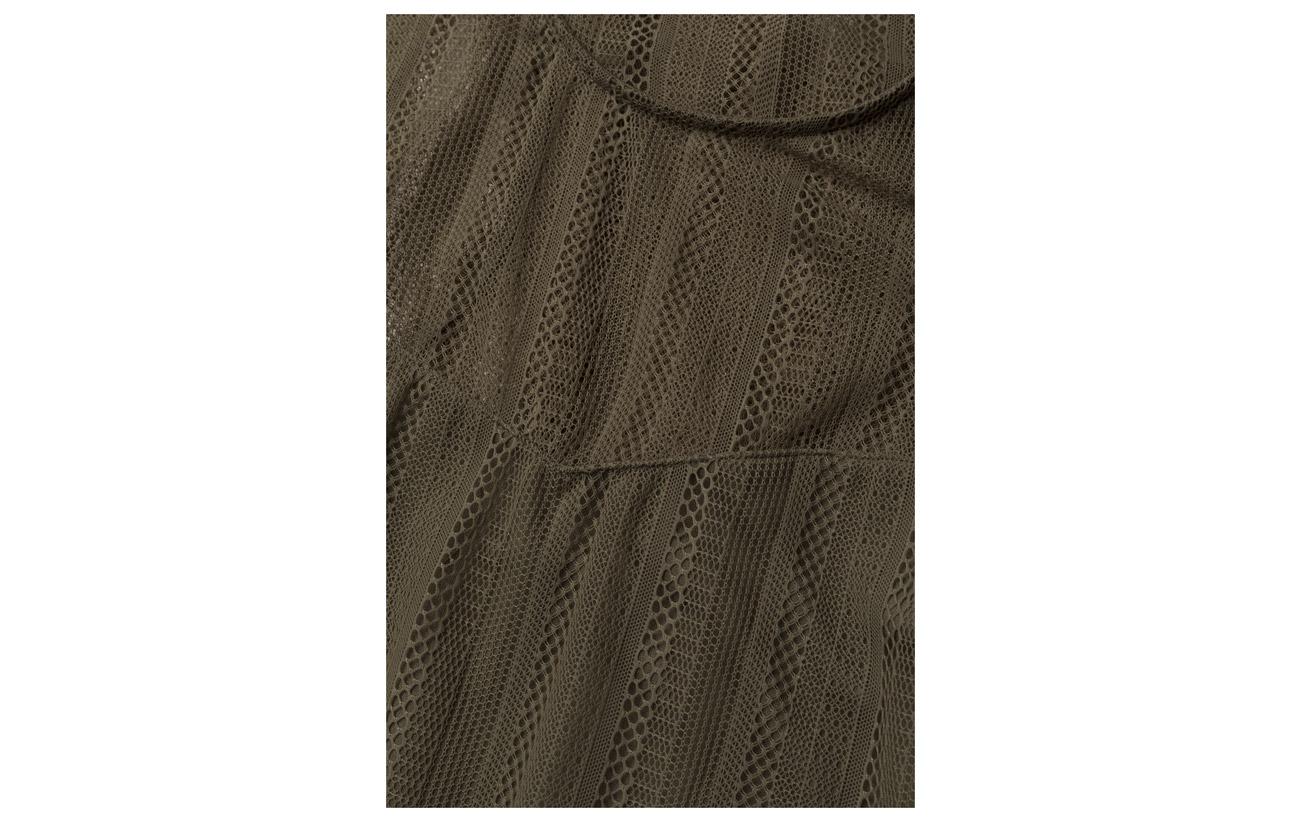 Autumn Leaf Dress A871 Polyamide Iselle 100 Jeans Guess qRZ1t6n