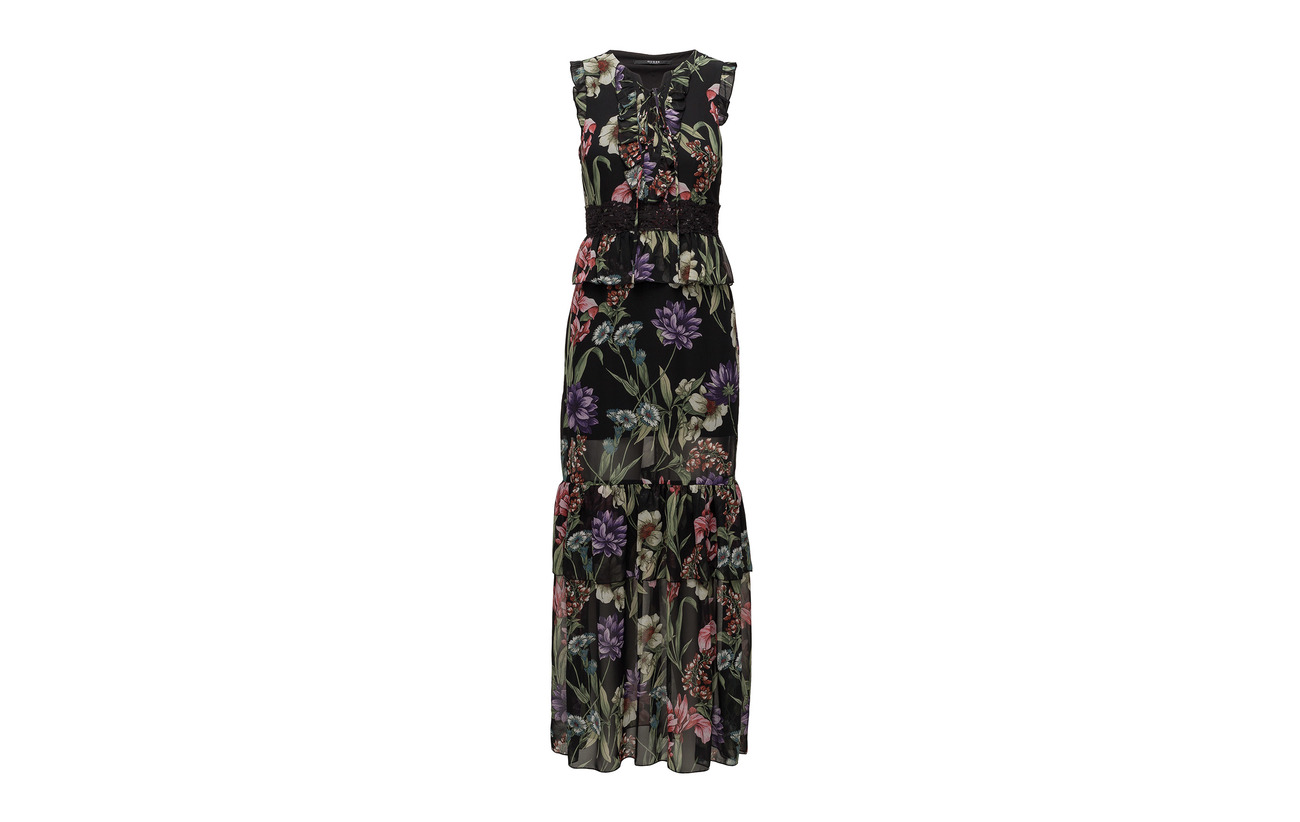 Flower Bla 100 Guess Olga Charme Polyester Dress Jeans wxCRPqtTR