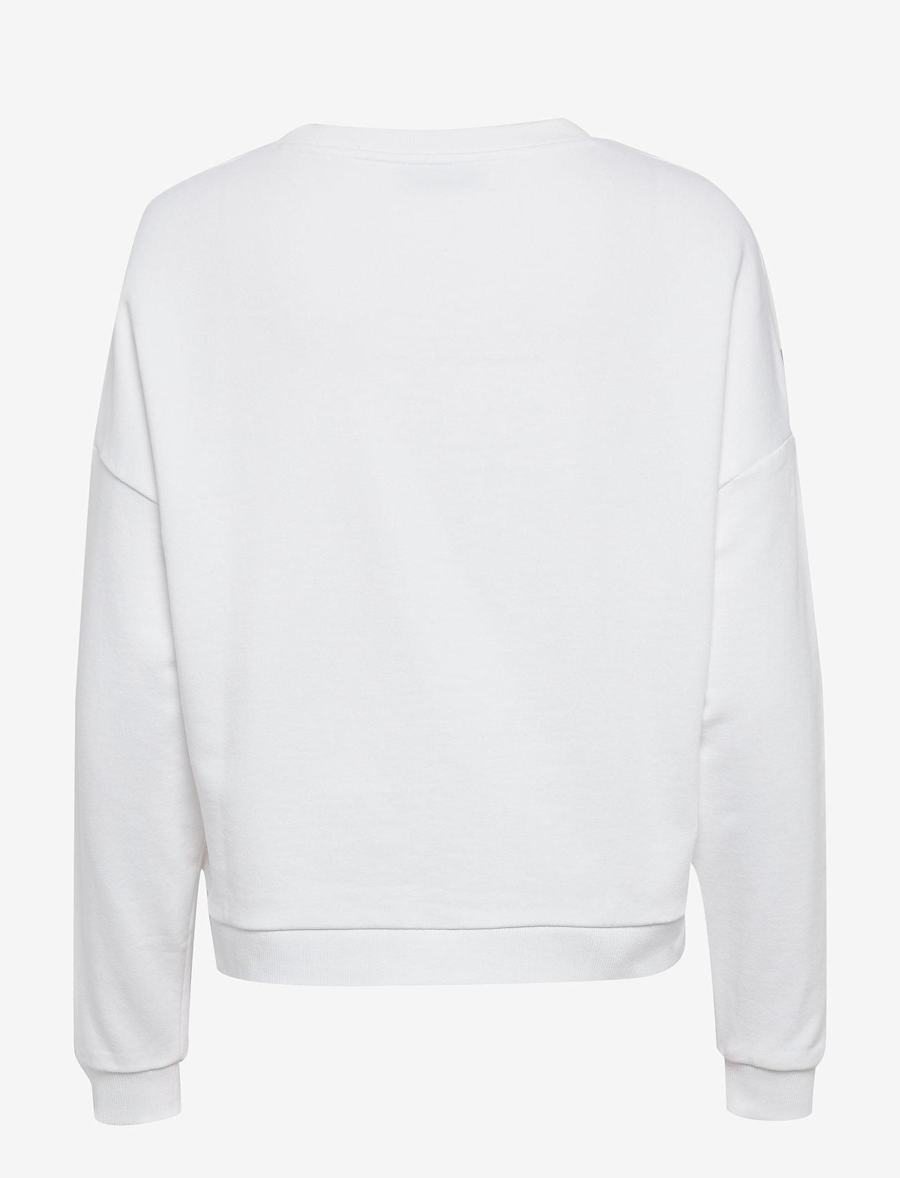 Icon Fleece (True White A000) - GUESS Jeans TdU6aL