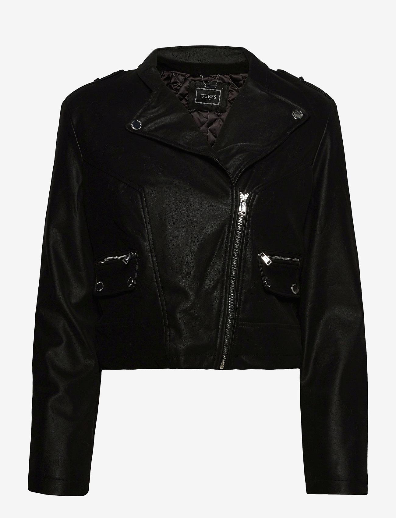GUESS Jeans - FRANCES JACKET - skinnjackor - jet black a996 - 0