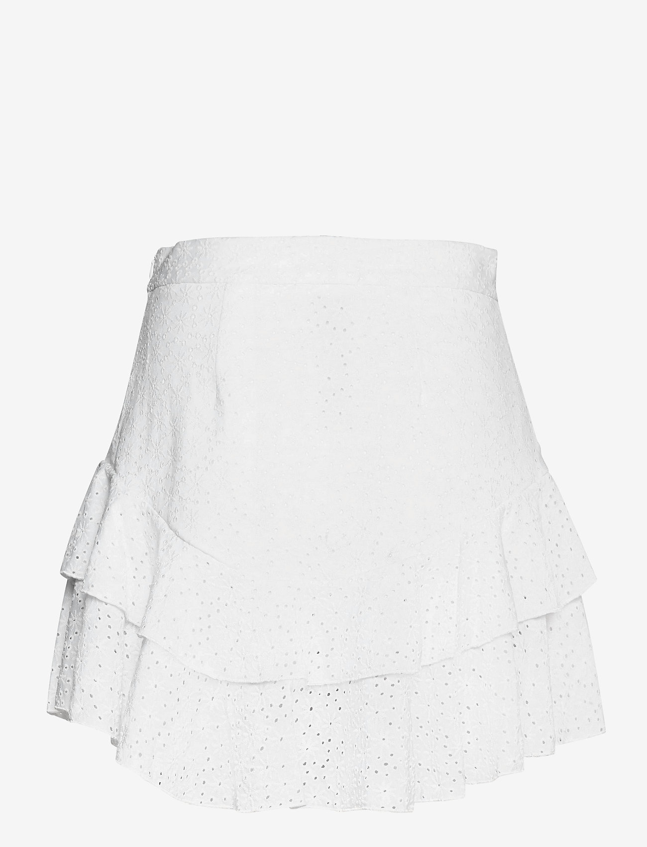 GUESS Jeans - TATIANA SKIRT - korta kjolar - true white a000 - 1