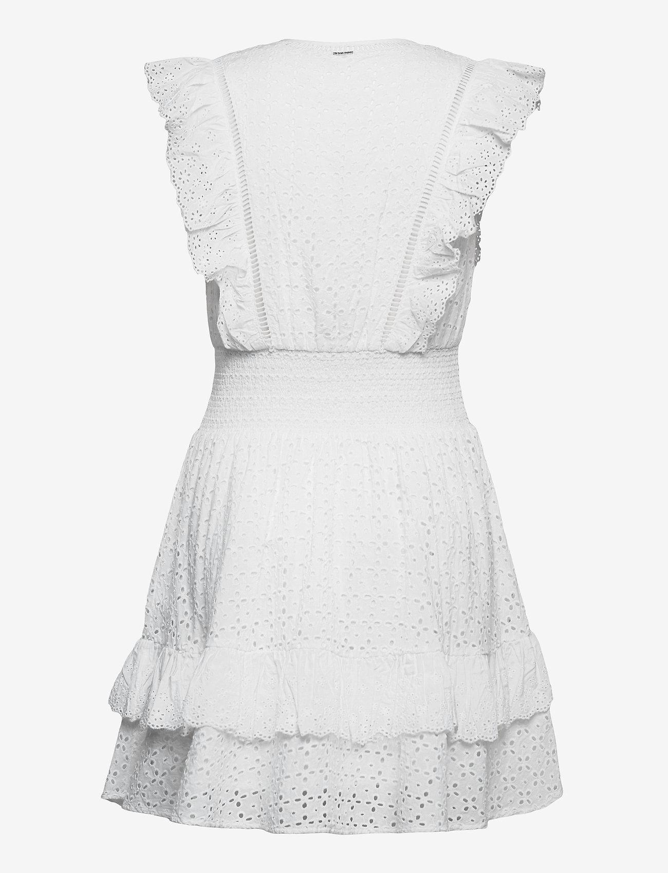 GUESS Jeans - AISHA DRESS - sommerkjoler - true white a000 - 1