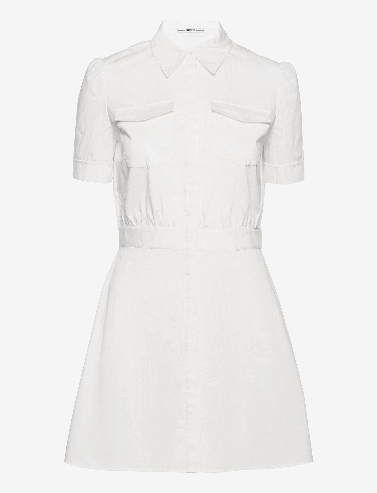 GUESS Jeans - REYNA DRESS - sommarklänningar - true white a000 - 0