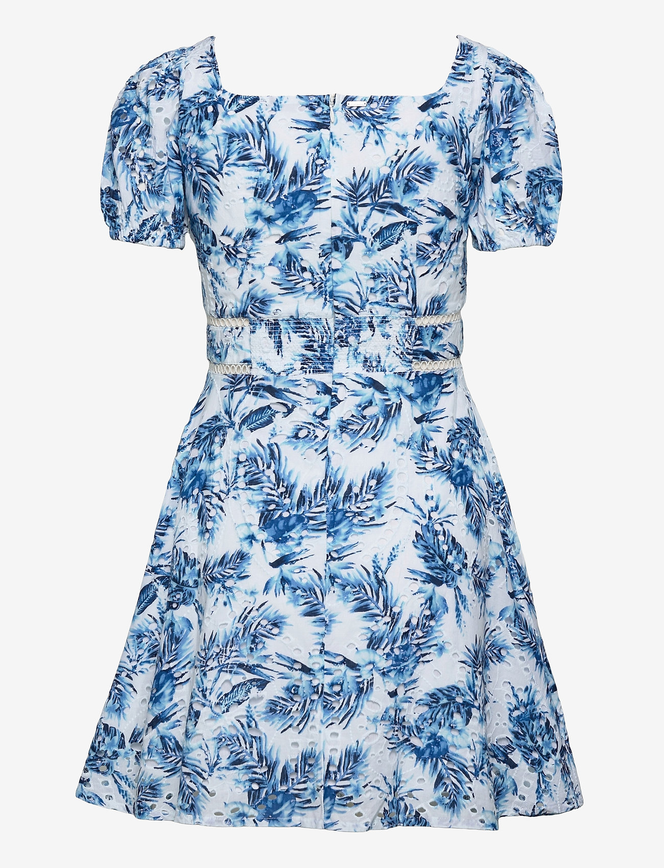 GUESS Jeans - ROBIN DRESS - robes d'été - anthurium blue fl - 1