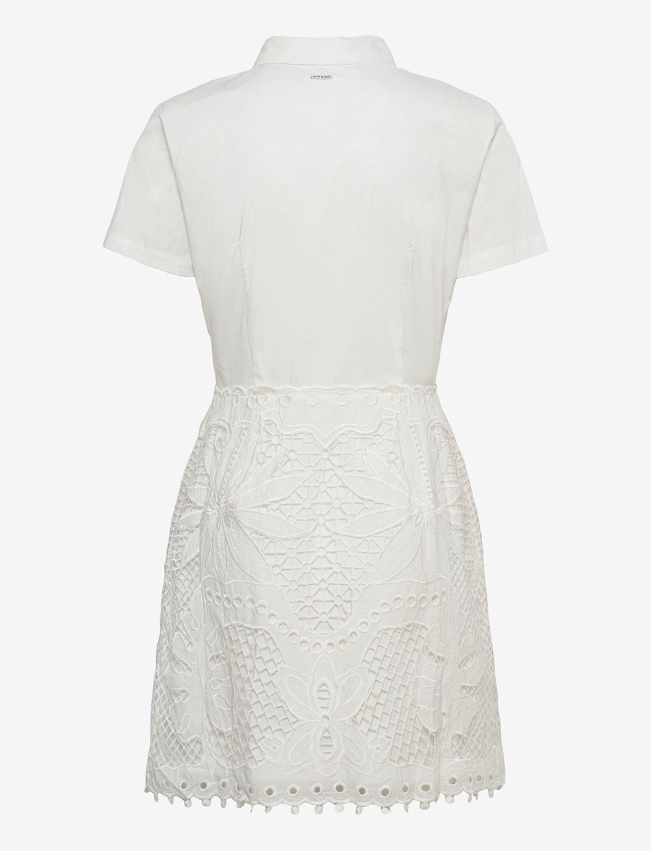GUESS Jeans - RITA DRESS - sommarklänningar - true white a000 - 1