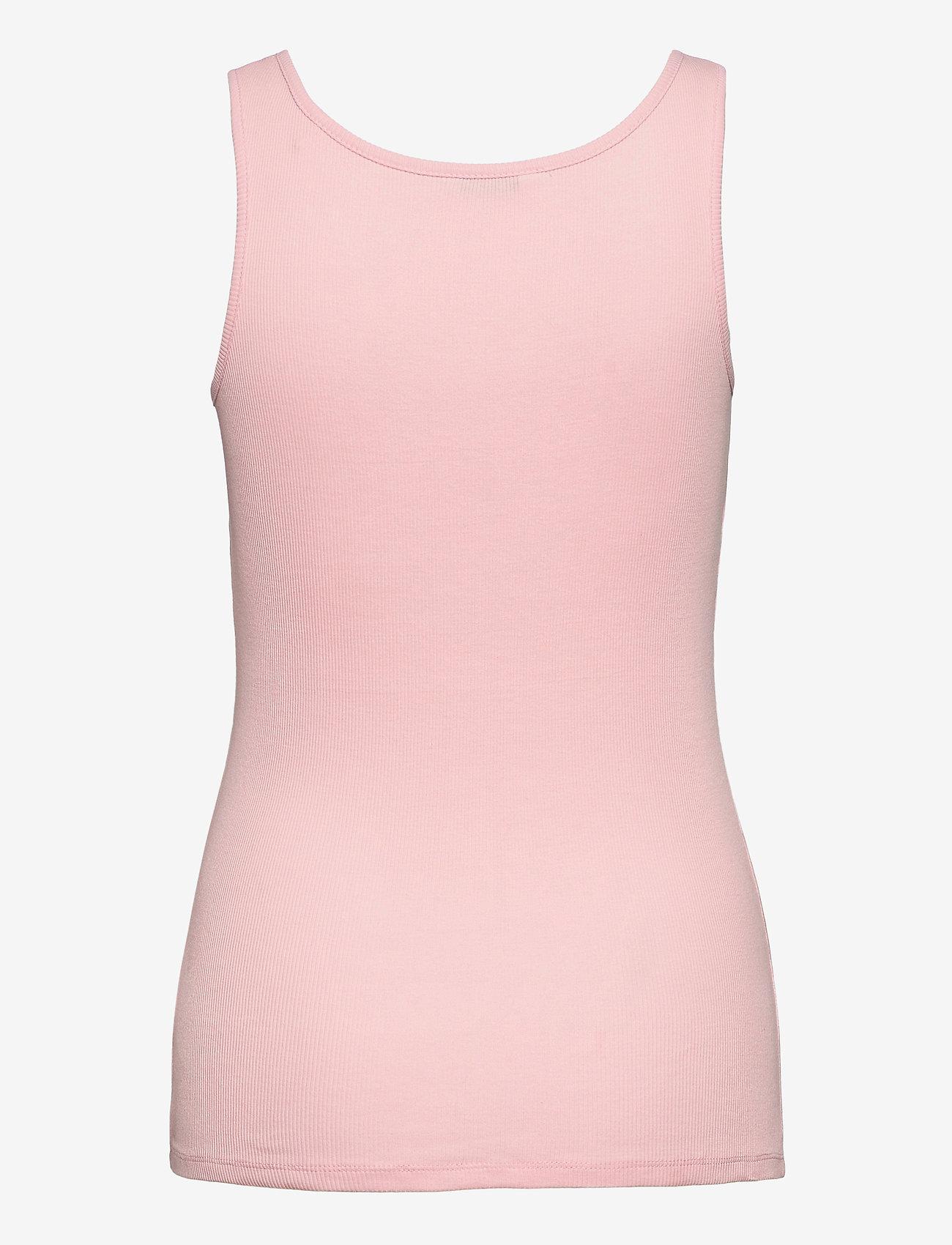 GUESS Jeans - ARLENE TANK TOP - linnen - alabaster pink - 1
