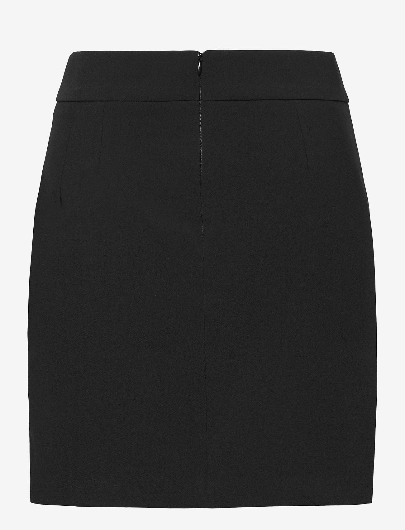 GUESS Jeans - SARINA SKIRT - midi kjolar - jet black a996 - 1