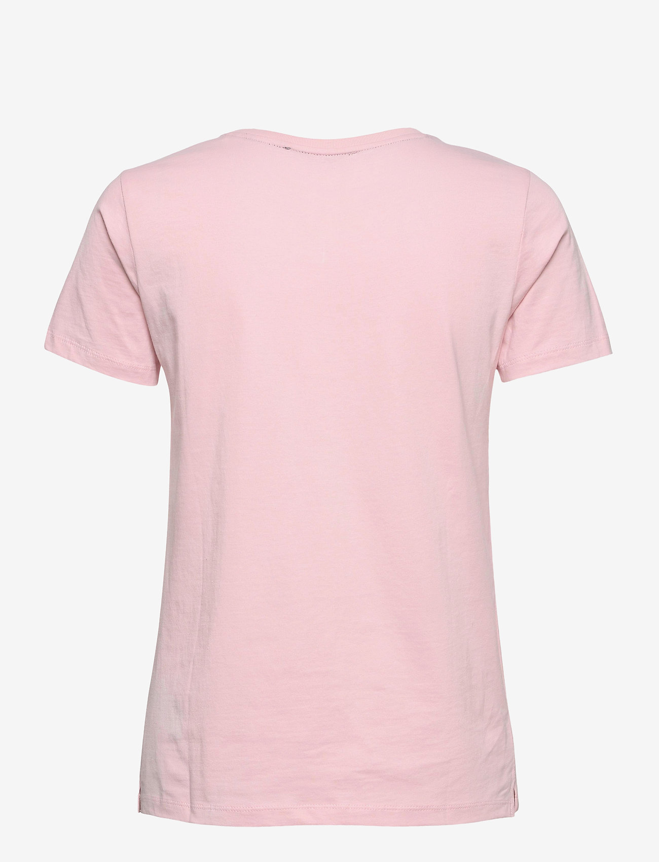 GUESS Jeans - SS CN ICON TEE - t-shirts - alabaster pink - 1