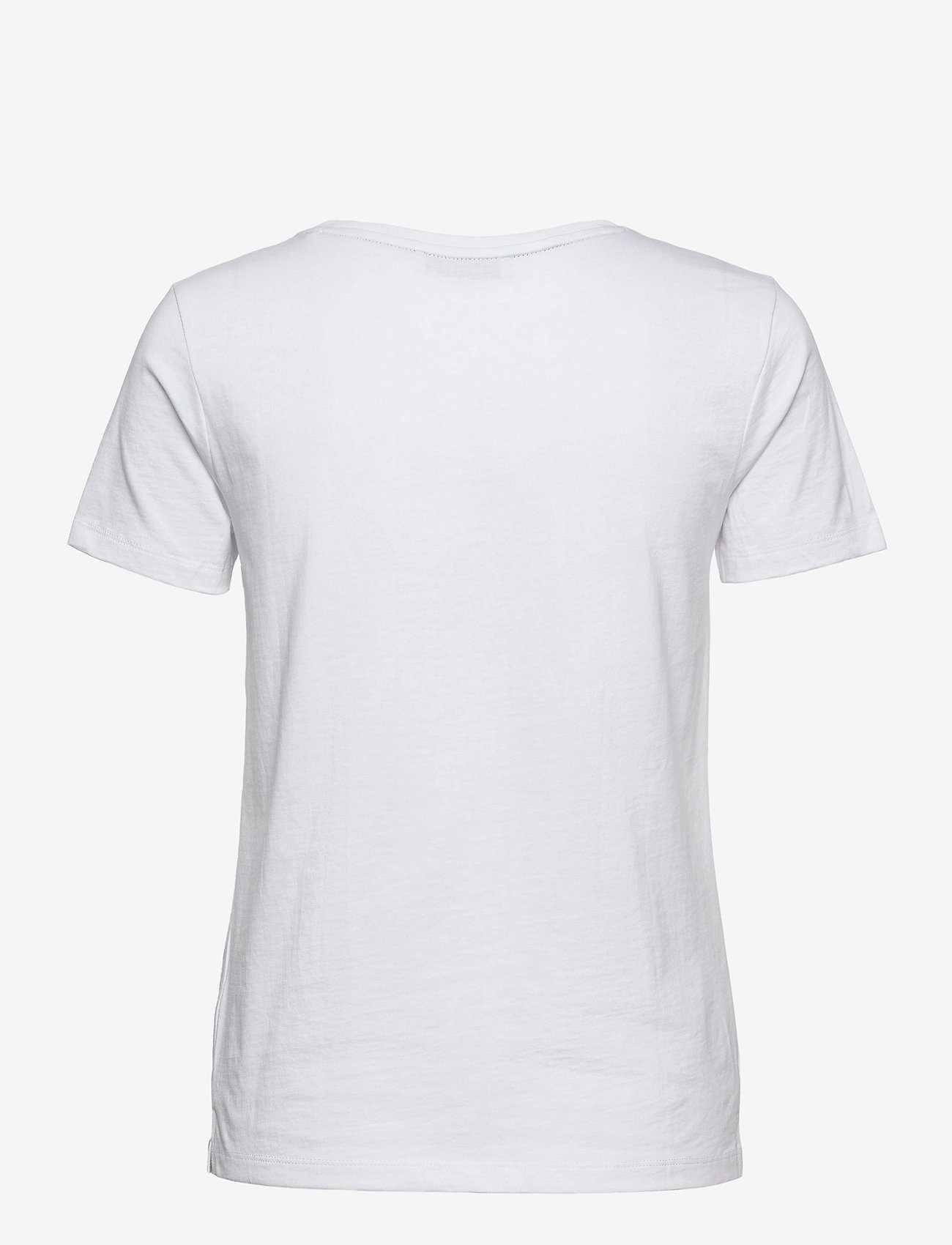 GUESS Jeans - SS CN ICON TEE - t-shirts - true white a000 - 1