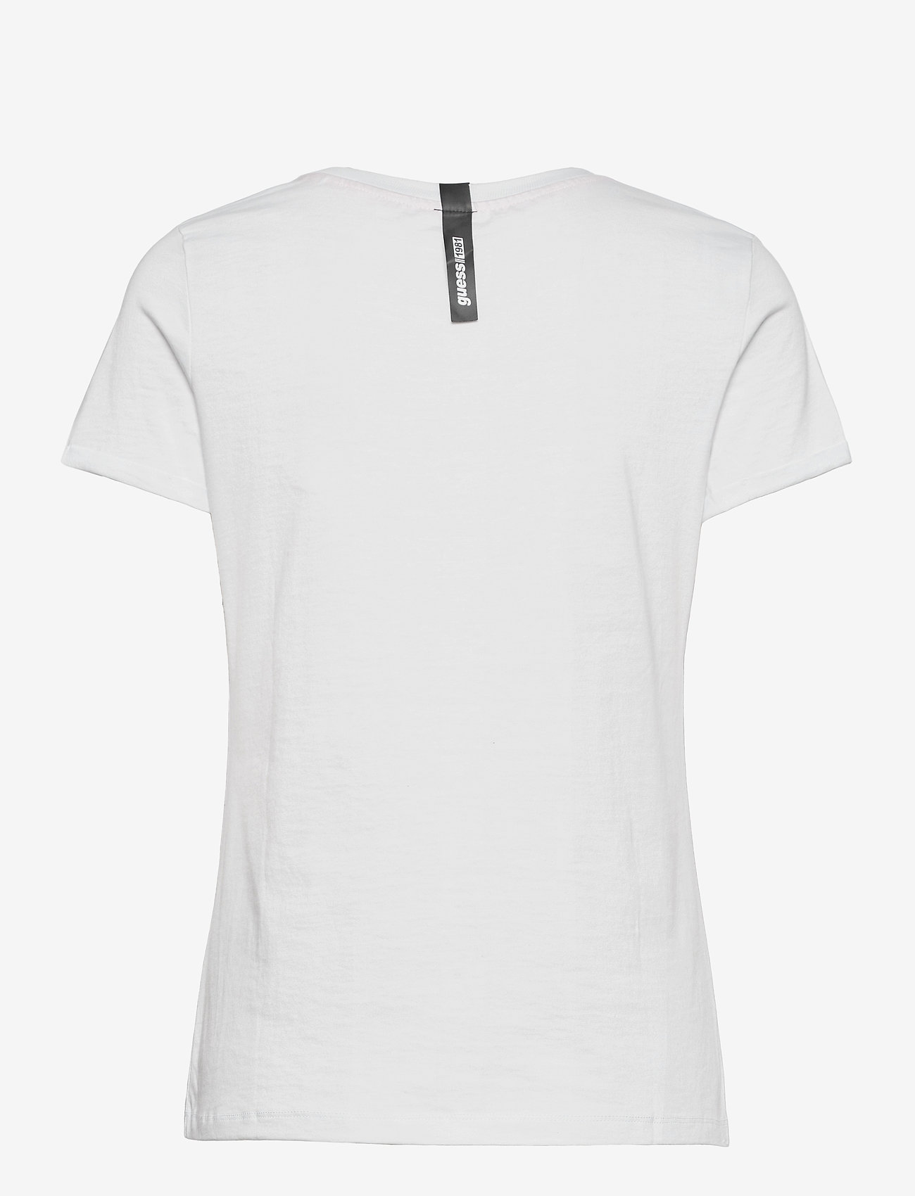 GUESS Jeans - SS CN MARGARITA TEE - t-shirts - true white a000 - 1