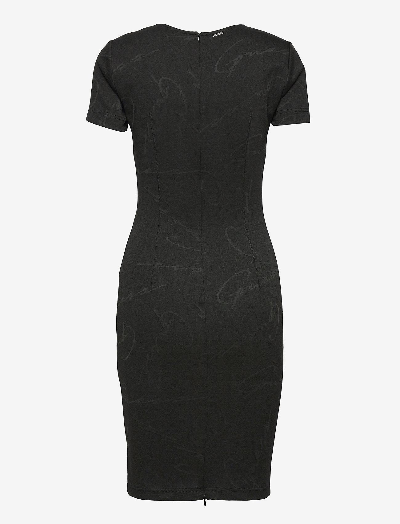 GUESS Jeans - RHODA DRESS - fodralklänningar - jet black a996 - 1