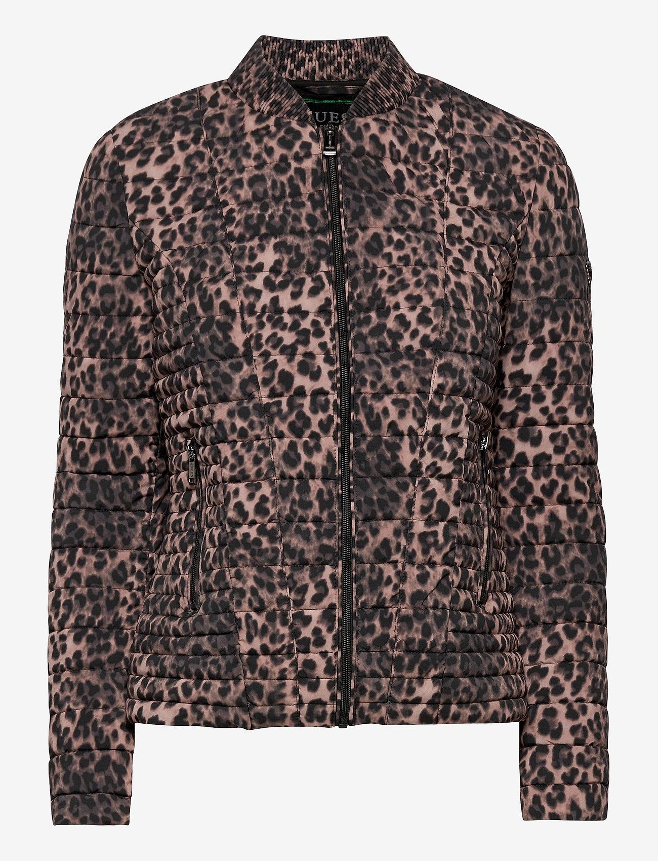 GUESS Jeans - VERA JACKET - vestes d'hiver - iconic leopard br - 0