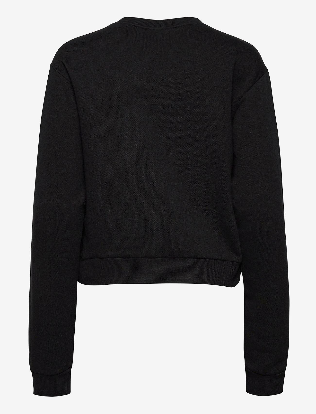 GUESS Jeans - ICON FLEECE - sweatshirts - jet black a996 - 1