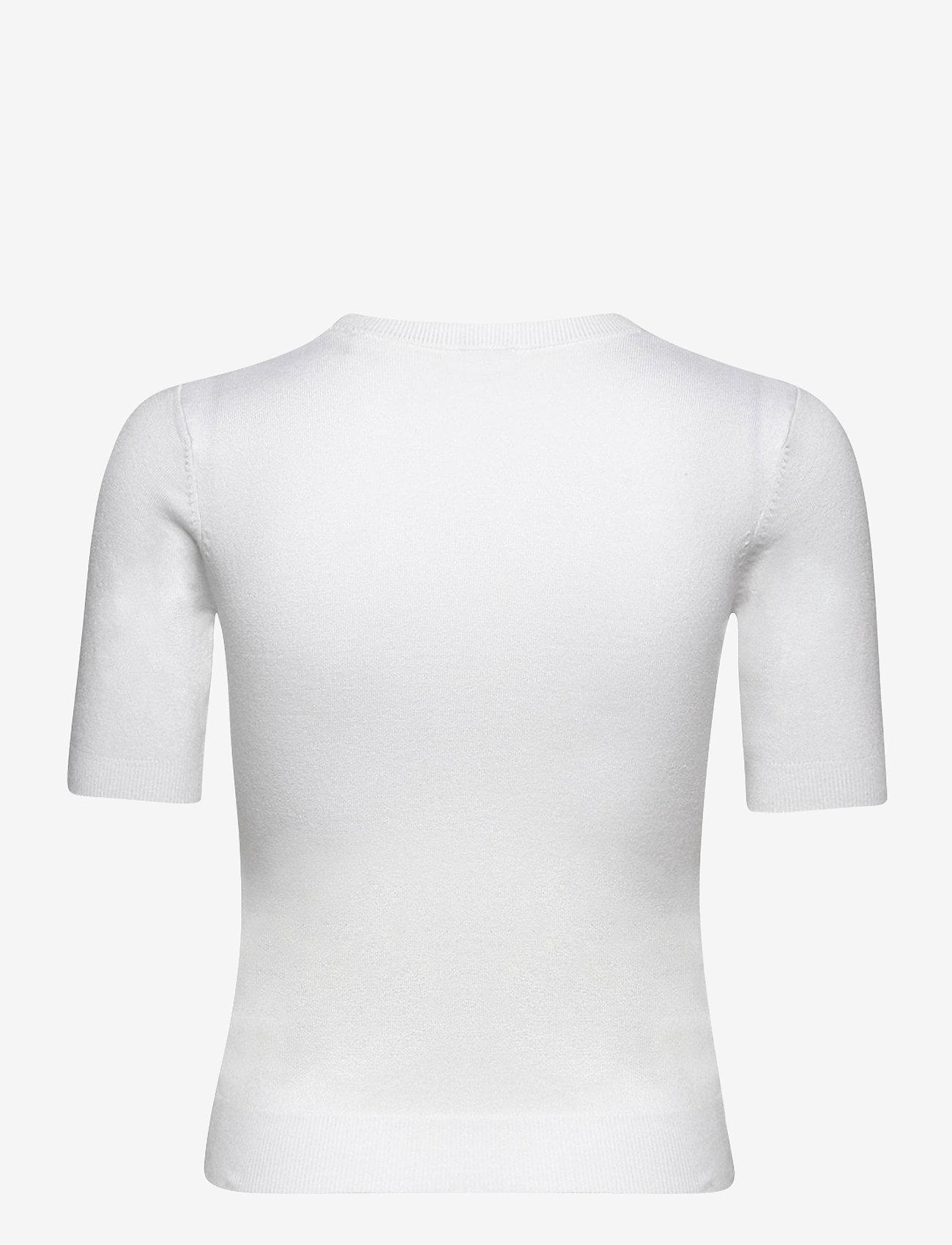 GUESS Jeans - DEBORAH RN SWEATER - stickade toppar - true white a000 - 1