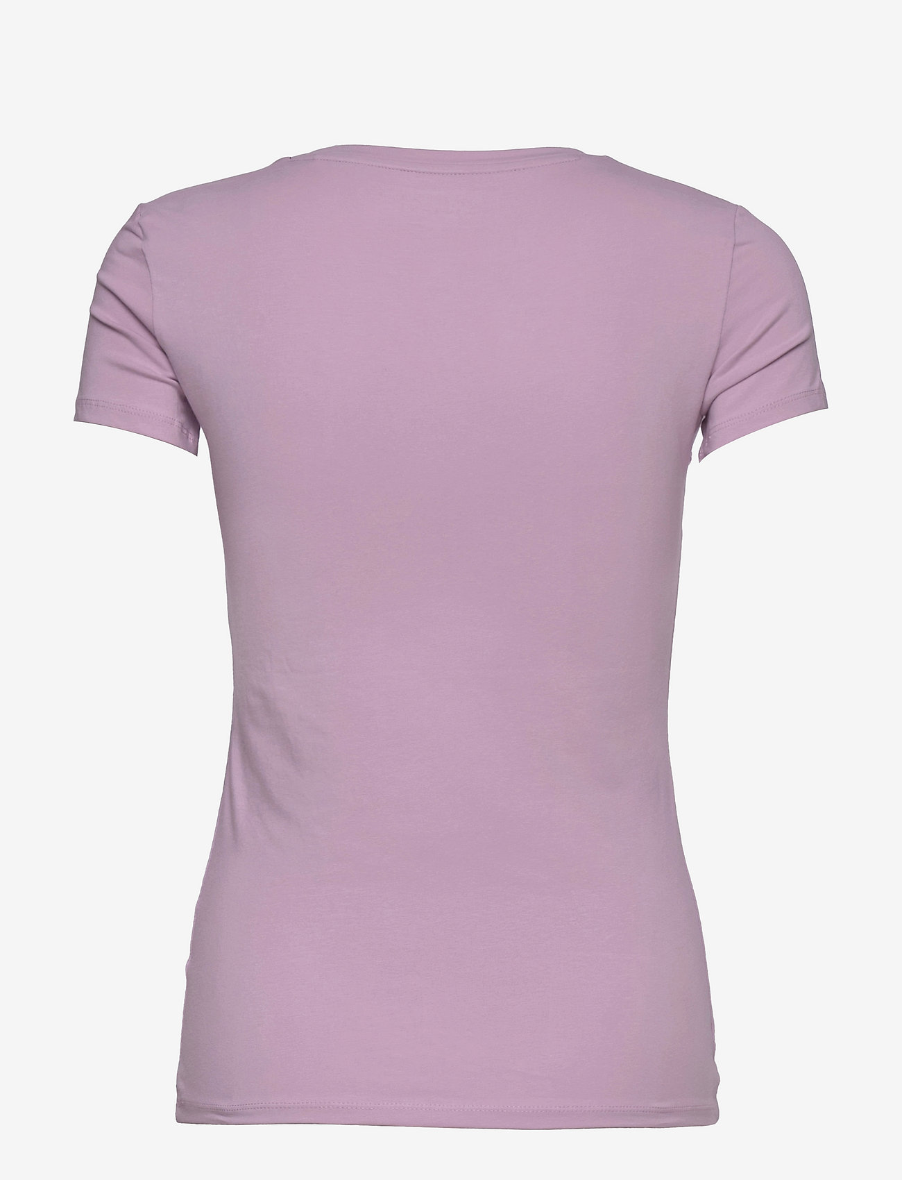 GUESS Jeans - SS VN MINI TRIANGLE TEE - t-shirts - linen lilac - 1
