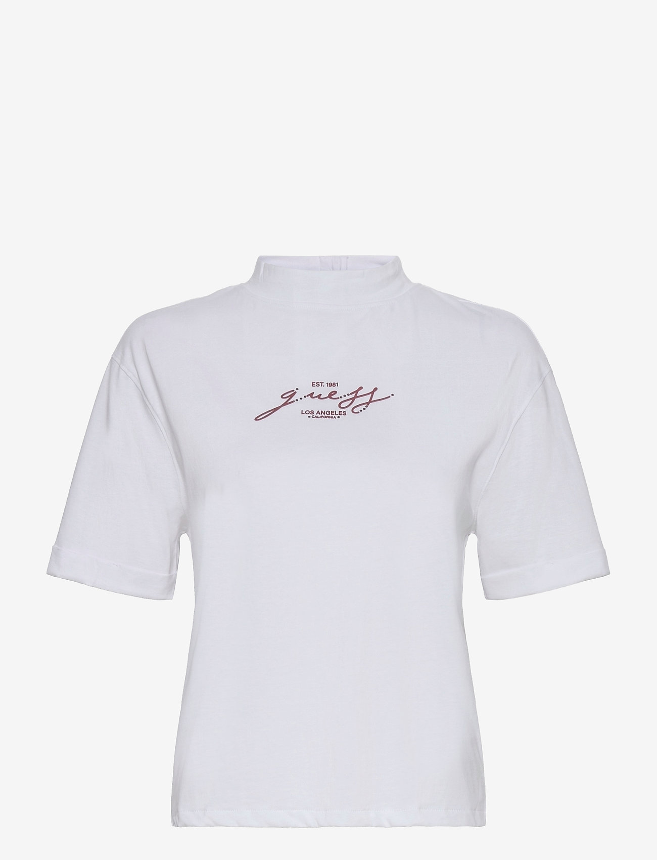 GUESS Jeans - SS AVELINA TEE - t-shirts - pure white - 0