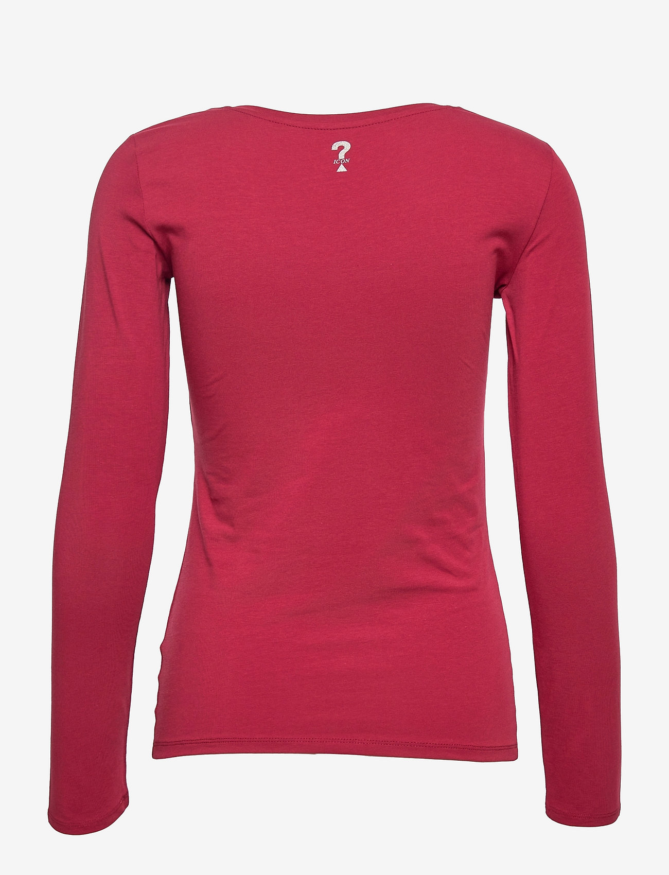 GUESS Jeans - LS CN RAISA TEE - långärmade toppar - beet juice red - 1