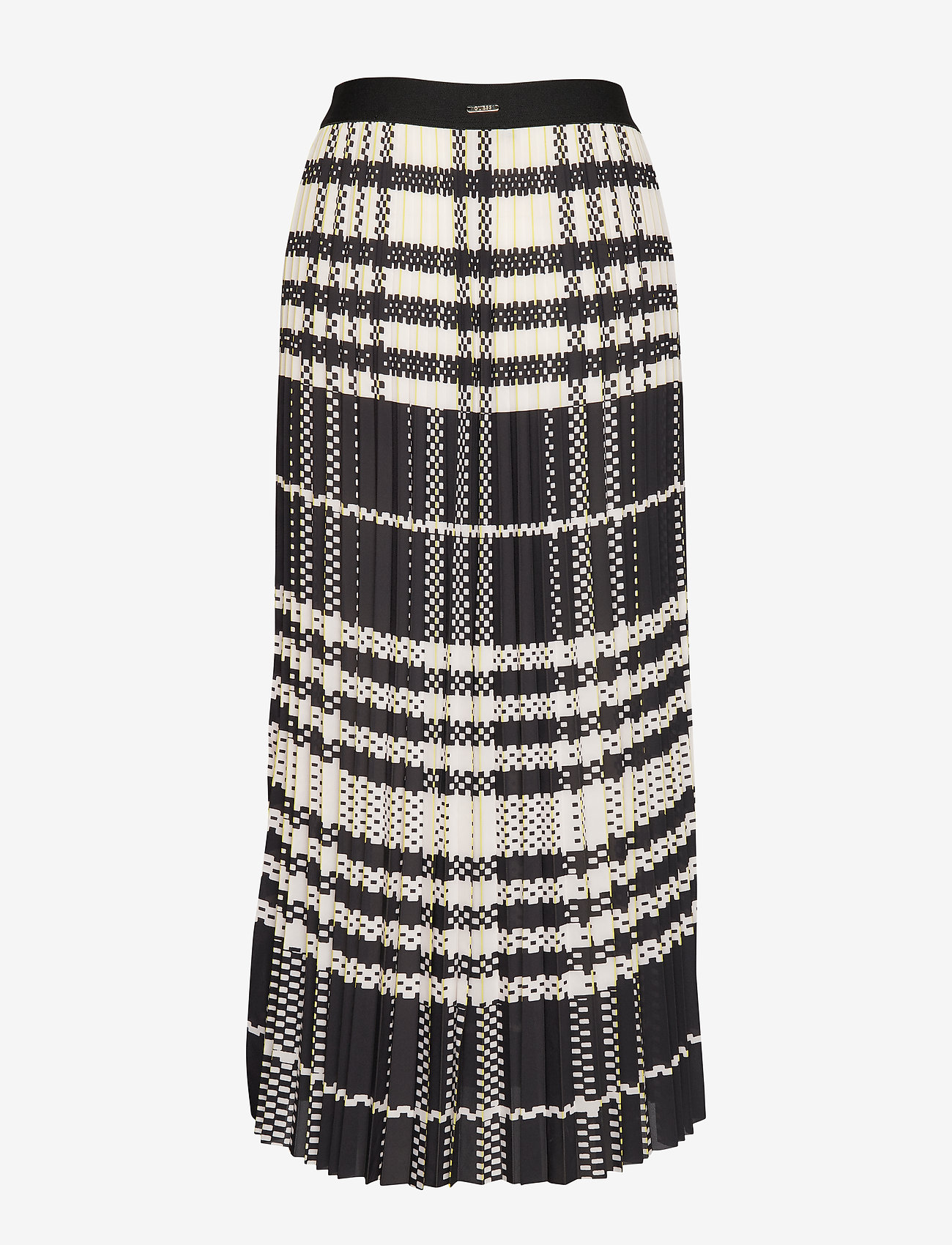 Savina Skirt (Macro Plaid Yello) - GUESS Jeans Y5nZfK