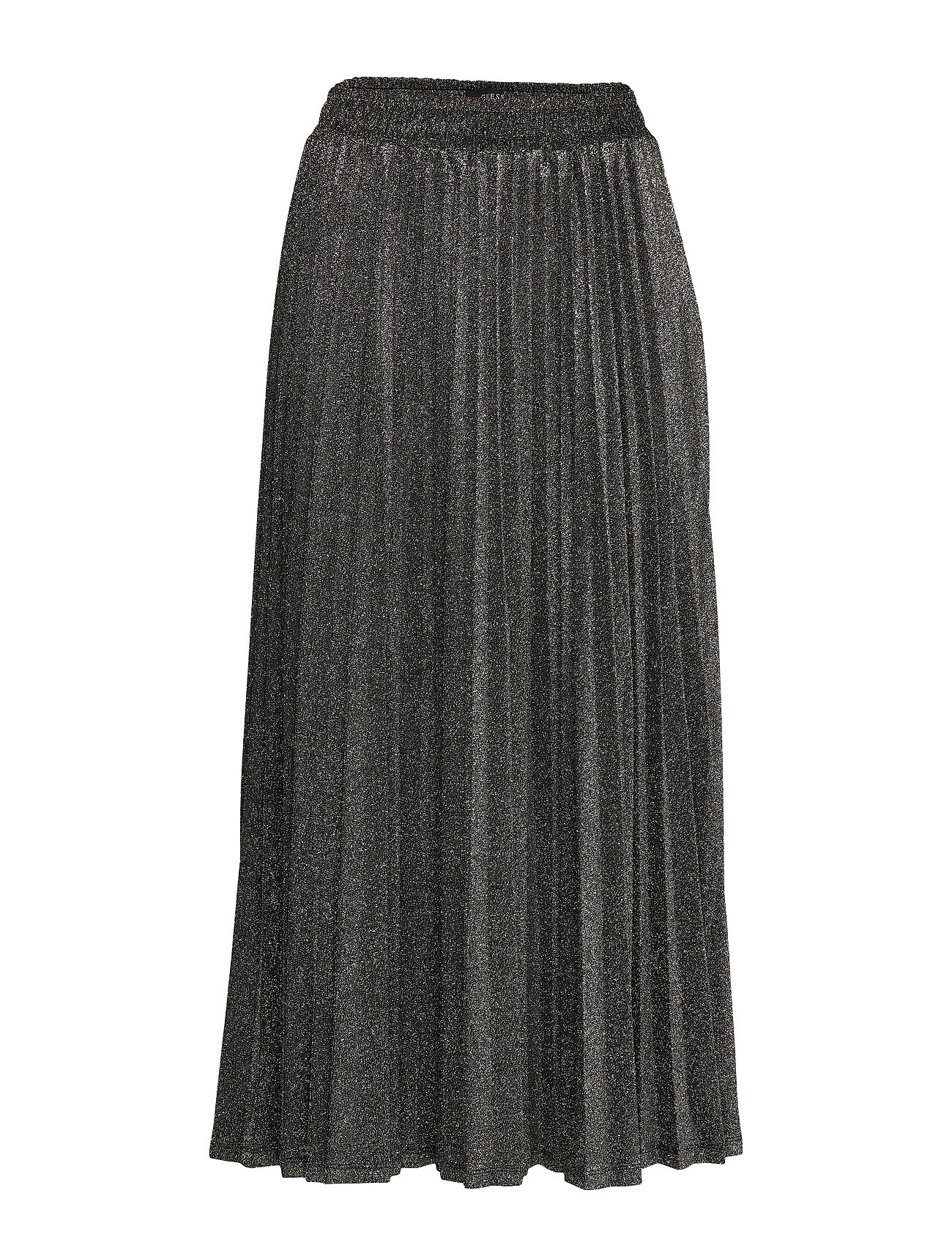 GUESS Jeans MARION SKIRT - BLACK AND SILVER