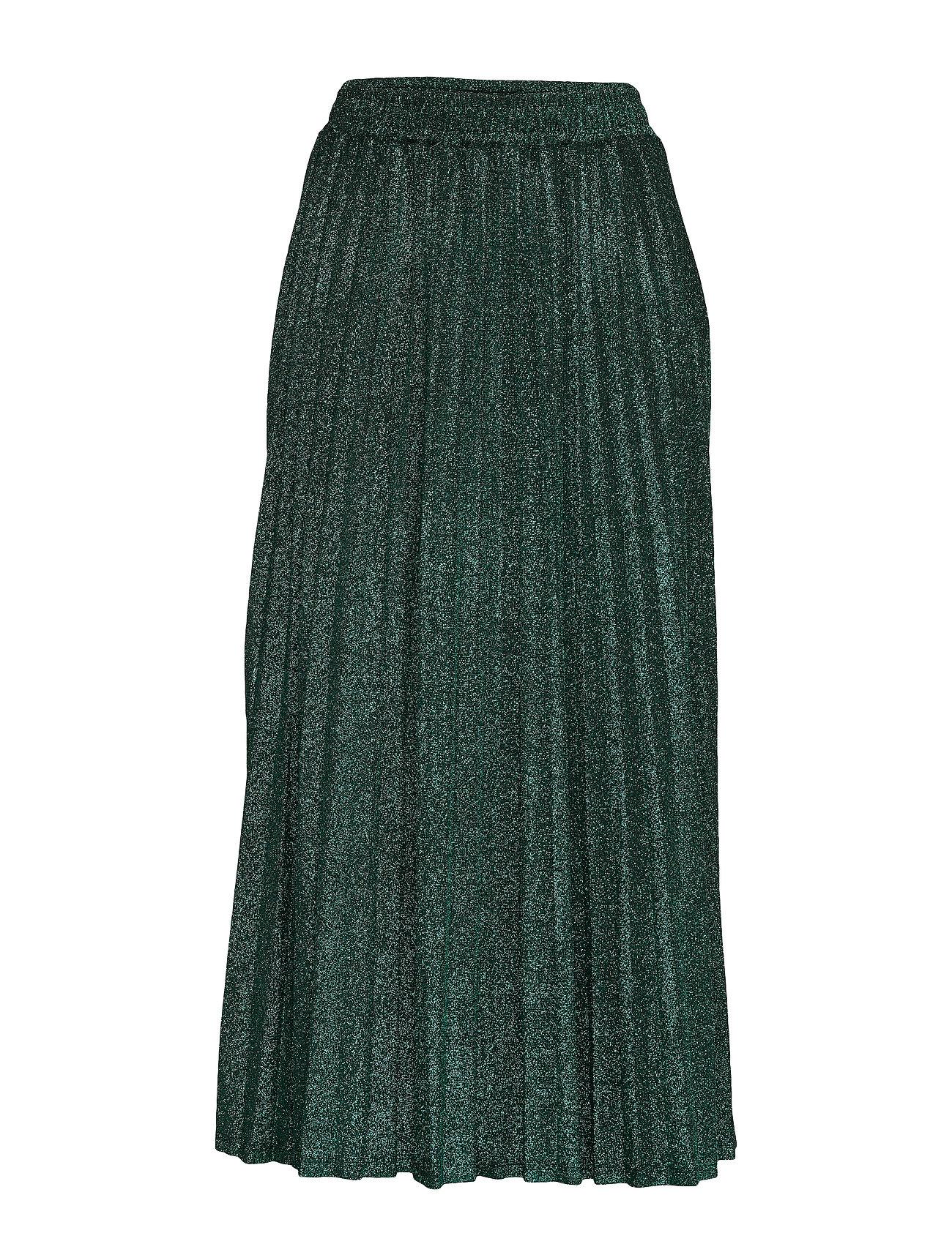 GUESS Jeans MARION SKIRT - GREEN LUREX