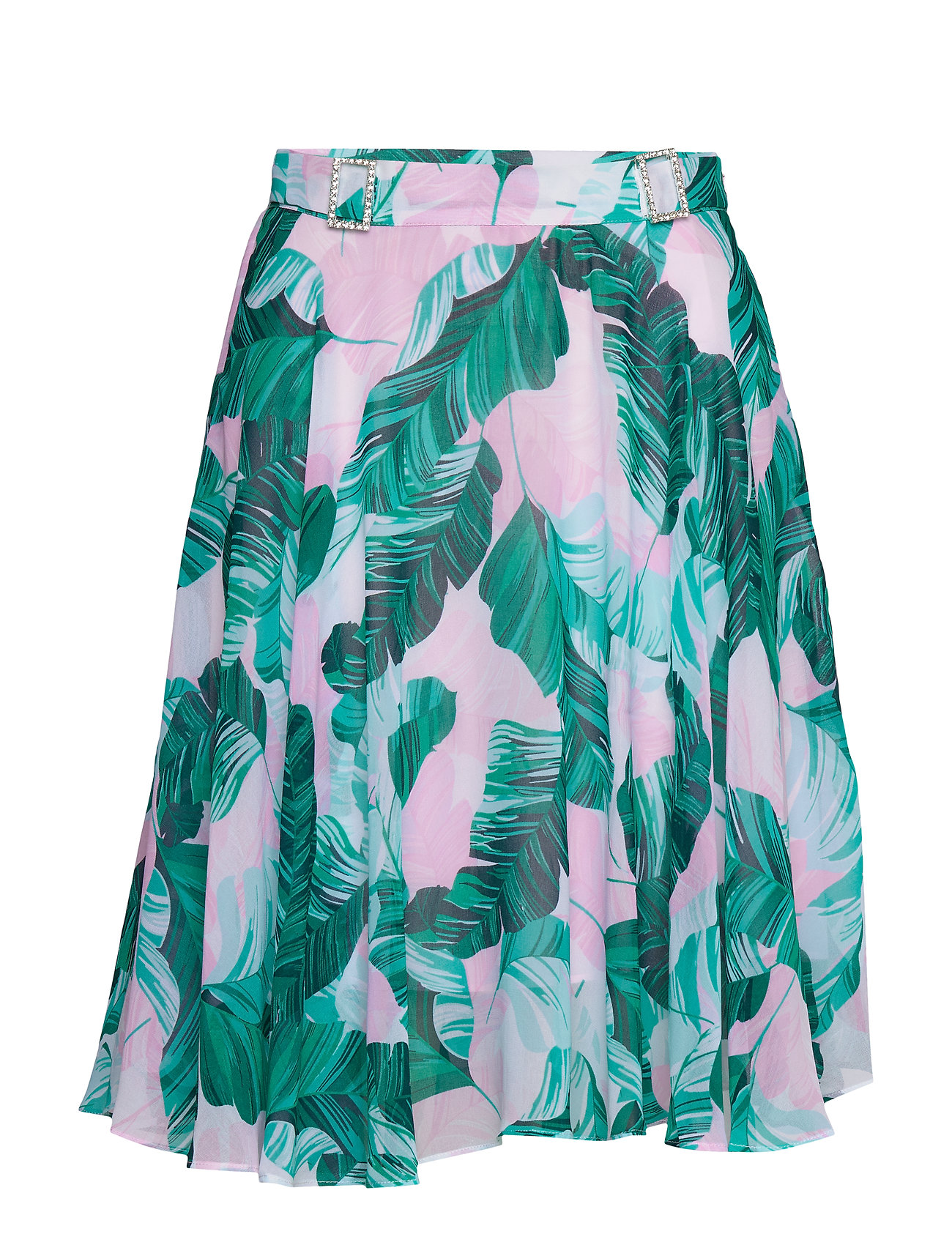GUESS Jeans GRACE SKIRT - HAWAIIAN LEAVES P