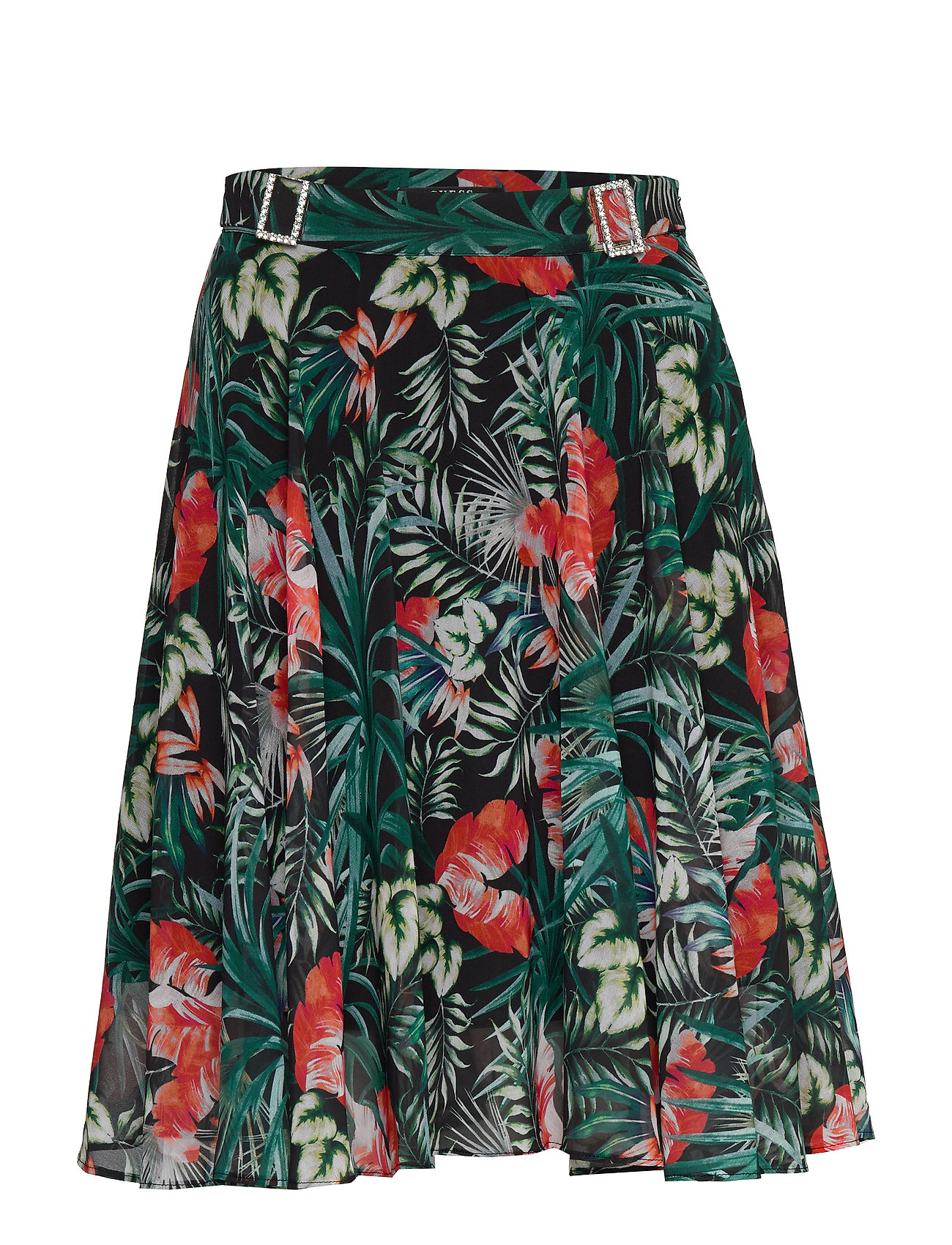 GUESS Jeans GRACE SKIRT - SMALL DARK TROPIC