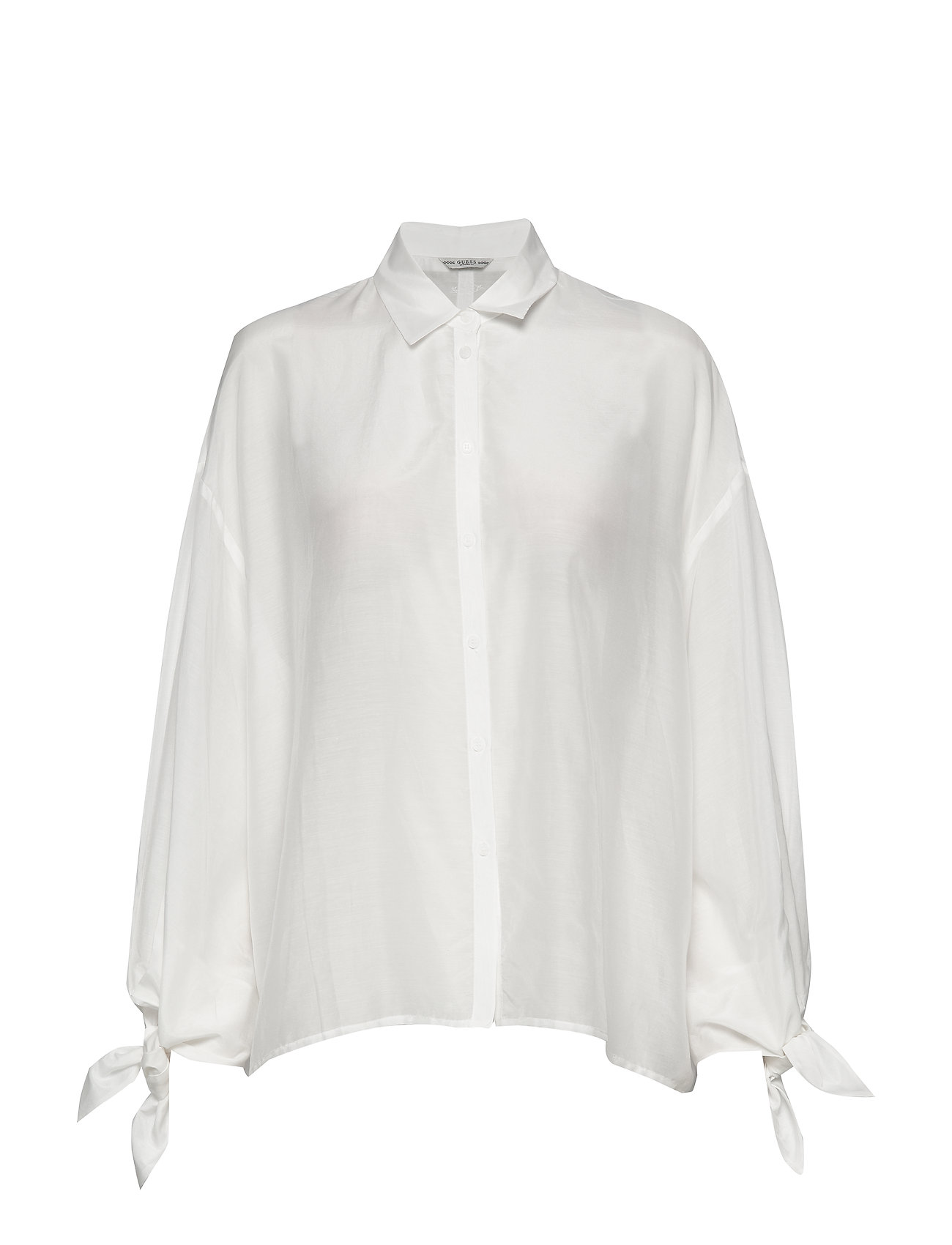 GUESS Jeans LS MARISA SHIRT - TRUE WHITE A000